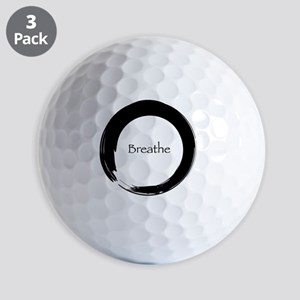 Remember to Breathe Golf Balls
