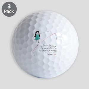 Its a Balancing Act Golf Balls