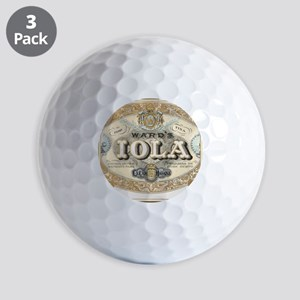 2534 2534 CIGMISC Golf Balls