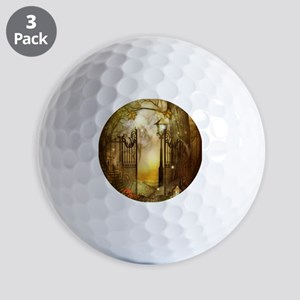 Fairy Woodlands 8 Golf Balls