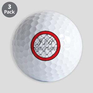 JR couture Golf Balls