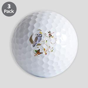Owl Fantasy Golf Balls