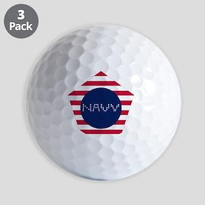 NAVY-P Golf Balls