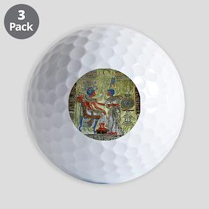Tutankhamons Throne Golf Balls