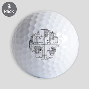 Poppy The Lapdog Golf Balls