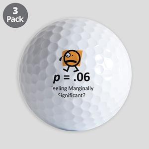 Feeling Marginally Significant? Golf Balls