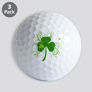 fancyshamrocknew Golf Balls