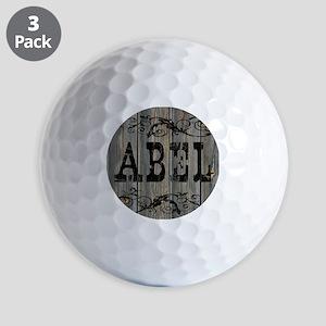 Abel, Western Themed Golf Balls