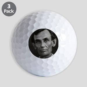 Beardless Lincoln Golf Balls