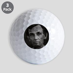 Abe, Distressed, Golf Balls
