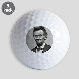 Honest Abe Golf Balls