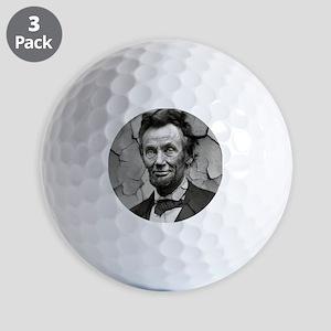 Worn, Abe Lincoln, Golf Balls