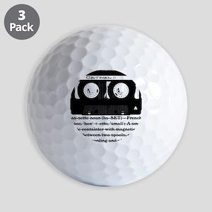 cassette_03 Golf Balls