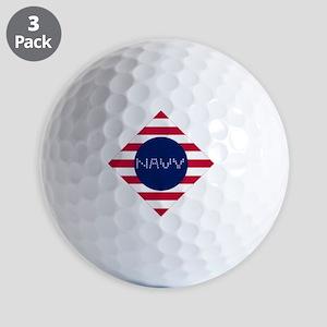 NAVY-D Golf Balls