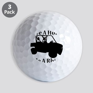 Save Horse BLACK Golf Balls