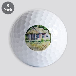 Cousin quote - a little bit of childhoo Golf Balls