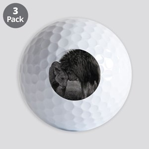 the Lion and Lioness  Golf Balls