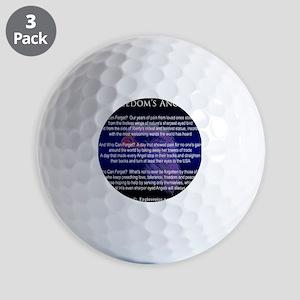 Freedoms Angels Golf Balls