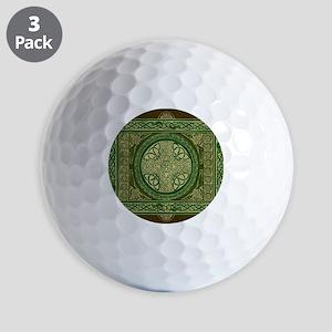 Celtic Blanket Golf Balls