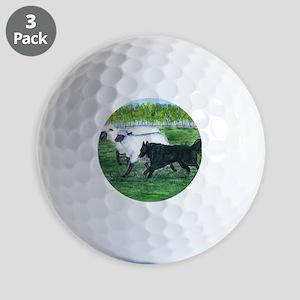 bel shep herd Golf Balls