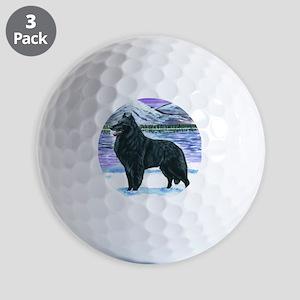 bel shep snow Golf Balls