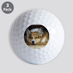 Welsh Corgi Pembroke 9R022-030_2 Golf Balls