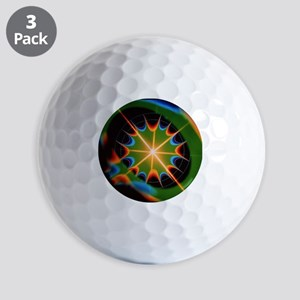 Magnetic field of superconducting magne Golf Balls