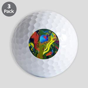 Olive Suspension Golf Balls