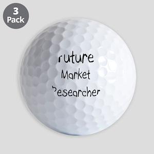 Market-Researcher3 Golf Balls