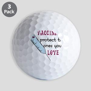 Vaccinate Golf Balls