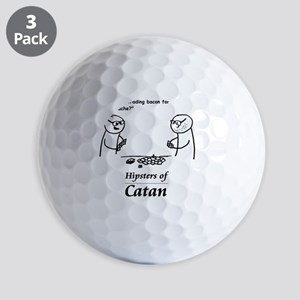 Hipsters of Catan Golf Balls