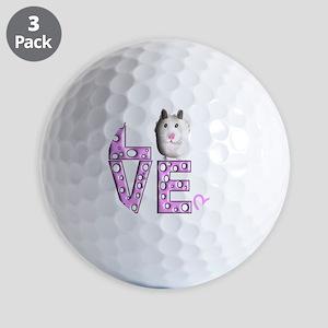 Hamster Golf Balls