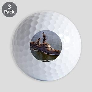 lawrence framed panel print Golf Balls