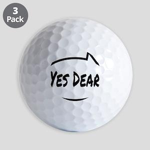 Yes Dear Shirt Golf Balls