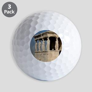 Caryatid_mug Golf Balls