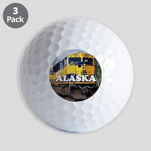 Alaska Railroad Golf Balls