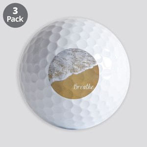 Just Breathe... Golf Balls