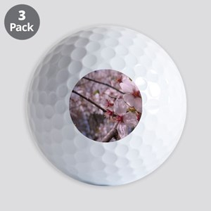 Cherry Blossoms Golf Balls