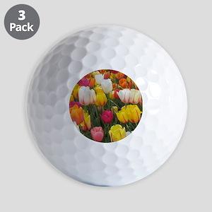 Spring Tulip Field Golf Balls