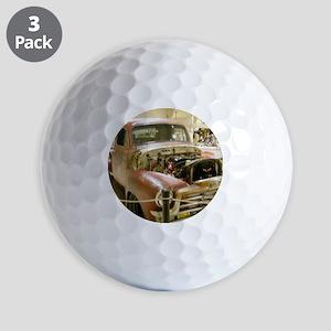Gun Welded Rat-Rod Truck Golf Balls