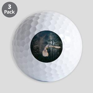 Owl at Midnight Golf Balls