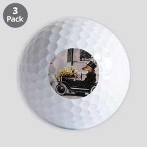 Old Fashioned Doxies Golf Balls