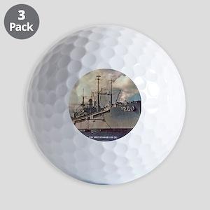 uss shenandoah framed panel print Golf Balls