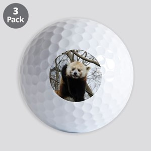 Funny Red Panda Golf Balls