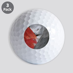 Elegant Grey Golf Balls
