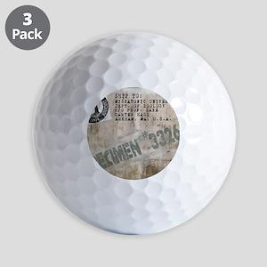 Specimen 3326 Golf Balls