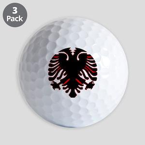 albania-flag Golf Balls