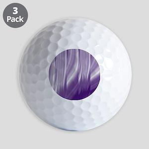 abstract purple grey Golf Balls