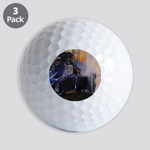 Auto Racing Golf Balls