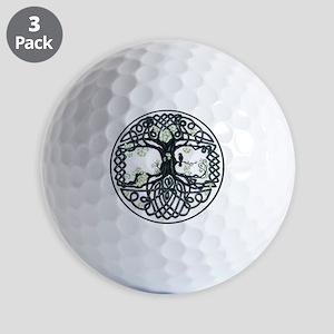 Celtic Tree Knot Golf Balls